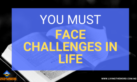 That Challenge is for your greatness,don't quit on the way